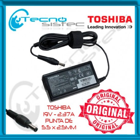 Cargador Toshiba Original 19V 2.37A Ultrabook