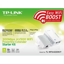 Kit Powerline Tp-link Tl-wpa4220kit 500mb (2 Un.)