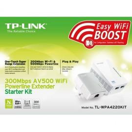 Kit Powerline Tp-link Tl-wpa4220kit 500mb (2 Un.)