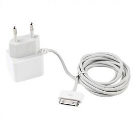 Cargador iPhone 3 4/4S a la corriente cable fijo