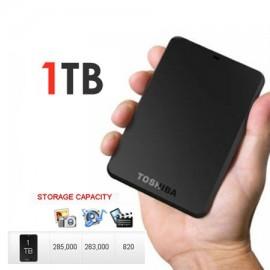 Disco Duro Externo Toshiba Canvio Basics 1TB USB 3.0